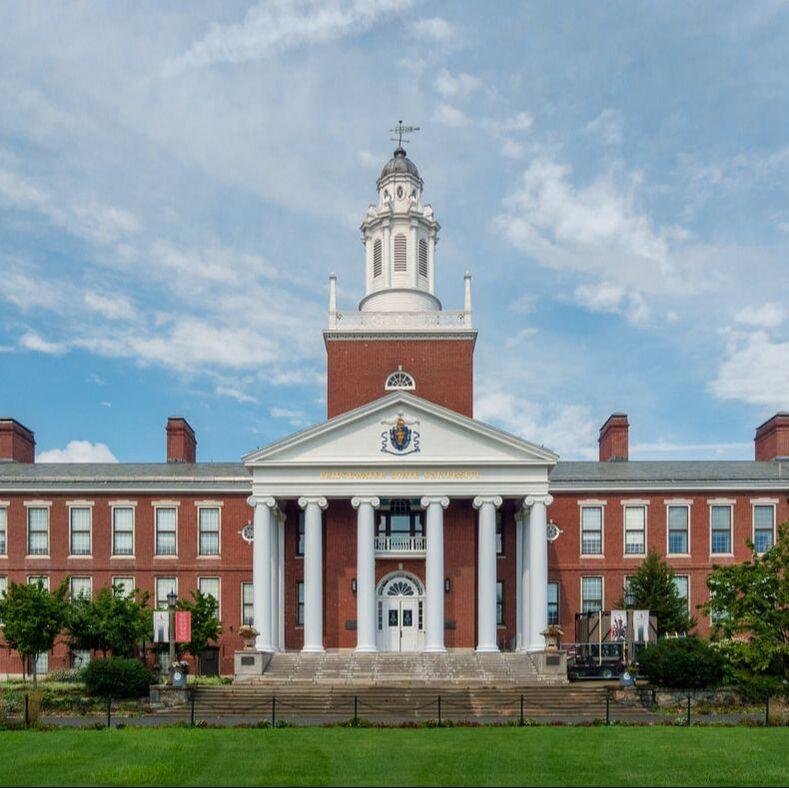 Boyden Hall at Bridgewater State University.